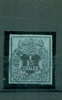 Hannover, Wappen Nr. 4 gestempelt