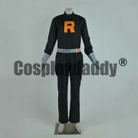 Pokemon HeartGold and SoulSilver Team Rocket Grunt Male Cosplay Costume F006