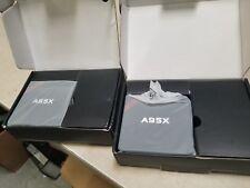 Lot of 2 A95X-B7N 4K TV Box  A95X s905x quad core 2.0 1gb 8gb New