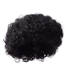 Factory Direct Craft Antina's Black Afro Curly Doll Wig | 3 Pieces