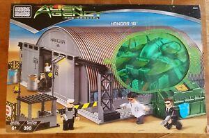 Mega Bloks Alien Agency The Arrival Hangar 18