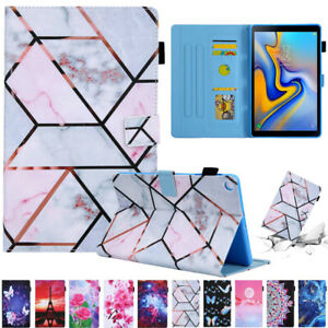 For Samsung Galaxy Tab A A7 T500 T290 T510 Tablet Leather Stand Flip Case Cover