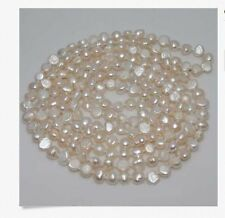 "MP"" Natural Excellent 6-7MM Baroque pearl necklace 80"" Long"