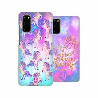 HEAD CASE DESIGNS UNICORNS AND GALAXY HARD BACK CASE FOR SAMSUNG PHONES 1