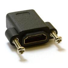 HDMI Panel Mount Steckverbinder v1.4 3D kompatibel Female zu Female Adapter