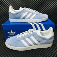 Adidas Originals Gazelle (Women's Size 9) Athletic Sneakers Blue Casual Shoes