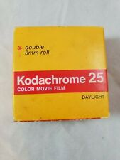 Kodak Kodachrome 25 double 8mm roll color movie film KM 459. Expired 1981
