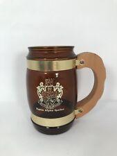 "Vintage 1969 Sweetheart Party Sigma Alpha Epsilon Mug Stein Brown ~5"" H 12 oz"