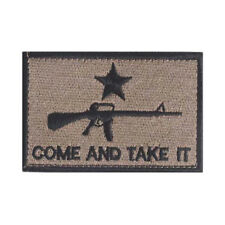 AR-15 COME AND TAKE IT Swat Military Tactical Patch Army Morale Badges Hook&Loop