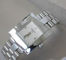 Vintage Ladies Tissot 1853 L730K Stainless Steel Wrist Watch #877P