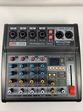 Professional Audio Mixer 4 Channels USB