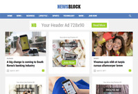 NewsBlock - News and Magazine Wordpress Website with Demo Content