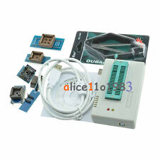TL866CS Programmer USB EPROM FLASH BIOS 6 Adapters Socket Extractor For 13000 IC