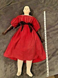 """Antique Greiner Doll 28"""" Large"""