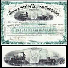 United States Express Company 1897 Stock Certificate