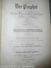 16144 Meyerbeer G. le prophète grand opéra piano extrait 1867 dans cinq ascenseurs