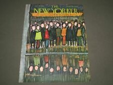 1948 JANUARY 10 NEW YORKER MAGAZINE FRONT COVER ONLY - GREAT ILLUSTRATED ART