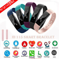 ID115 Smart Watch Bracelet Wristband Fitness Tracker for Android iPhone lot be