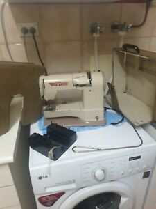 Vintage Elna Supermatic Lever Knee Operated Sewing Machine NEEDS ATTENTION