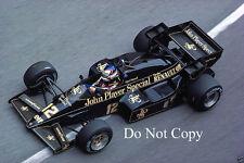 Nigel Mansell JPS Lotus 95T Monaco Grand Prix 1984 Photograph 1