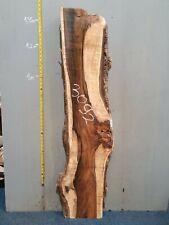Waney Edge Live Edge Walnut Slab Board Kiln Dried Hardwood 1410 x 260-350 x 50mm