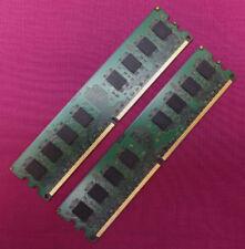 Memoria (RAM) de ordenador DIMM 240-pin con memoria interna de 2GB 2 módulos