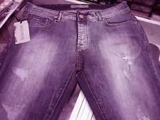 Jeans Uomo Angel Devil in cotone Elasticizzato con rotture frontali Art 14040103 Denim Foto 36 50
