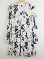 [ WITCHERY ] Womens Floral Print Long Sleeve Dress  | Size AU 8 or US 4