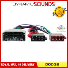 CT20DG01 Car Stereo Radio Wiring Harness Adaptor ISO Loom for Dodge