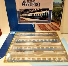RIVAROSSI art. HR 4275 FS set carrozze convoglio TRENO AZZURRO