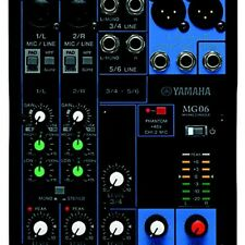 Yamaha MG06X 6 Channel Stereo Mixer Professional Mixing Cons