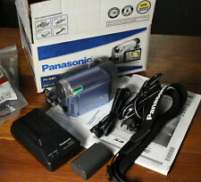 Panasonic Pv-Gs9 MiniDv Camcorder/Webcam In Box Accessories Charger Battery More