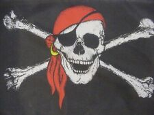 Hissflagge Pirat mit Kopftuch! 90 * 150 cm, 2 Ösen, -NEU-OVP-
