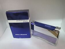 Paco Rabanne Ultrared Man  Eau De Toilette Spray 1.7 oz 50 ml DAMAGED BOX