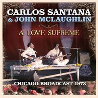 Carlos Santana & John McLaughlin : A Love Supreme CD 2 discs (2018) ***NEW***