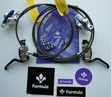 Formula - Impianto R1R/R1 Racing Silver Polish guaine con kevlar FD94175-RR -NEW