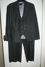 NEXT - Dark Grey, 3 Piece, Trouser Suit - Size 16