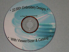 Pes Embroidery Designs - >22,000 on Dvd/3Cds/Usb - Some Brother/Baby Lock Mach.