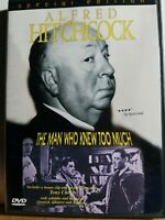 Alfred Hitchcock's The Man Who Knew Too Much (DVD, 1998), Hitchcock, USED