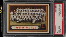 1957 Topps Red Sox Team #171 PSA 8 NM-MT (PWCC)