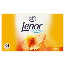 Lenor Summer Breeze Tumble Dryer Sheets, 34 Sheets 1 Box
