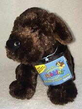 "Webkinz Chocolate Lab Plush Dog W/ Tag Code New HM138 9"" Stuffed Animal"