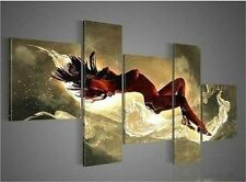 Beautiful abstract art nude woman decorative oil painting