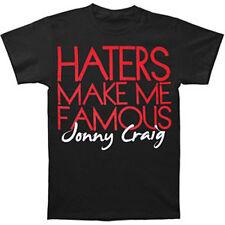 JONNY CRAIG - Haters:T-shirt NEW - MEDIUM ONLY