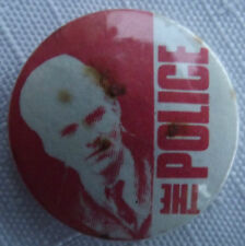 THE POLICE Sting Vintage 70/80`s Button Pin Badge 25mm(NOT shirt patch concert)