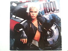 "12 "" Billy Idol   Don´t need a Gun"