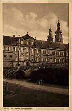 Bamberg Bayern Oberfranken Maintal AK ~1920/30 Kloster Hauptportal Portal Mönche