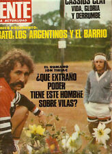 TENNIS GUILLERMO VILAS  INTERVIEW  Magazine 1978