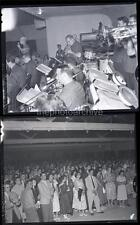 JIM & TOM DORSEY ORCHESTRA 1954 Original Camera MOVIE 4x5 2 NEGATIVE LOT 29P