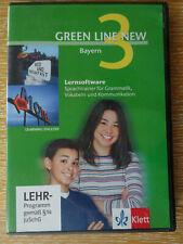 Greenline new Bayern 3 Lernsoftware KLett Lehrprogramm
